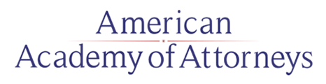 American Academy of Attorneys Logo